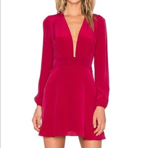 Carmella x REVOLVE Michli Dress in Berry